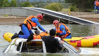 NSW SES State Disaster Rescue Competition
