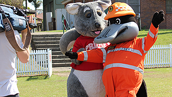 Wyong SES visit to Lake Munmorah High School