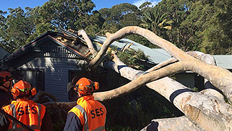 Severe Weather and Thunderstorms Continue to Impact Eastern NSW