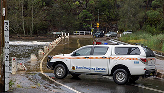 Northern NSW continues to experience heavy rainfalls