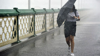 Prepare for a wet and windy week ahead