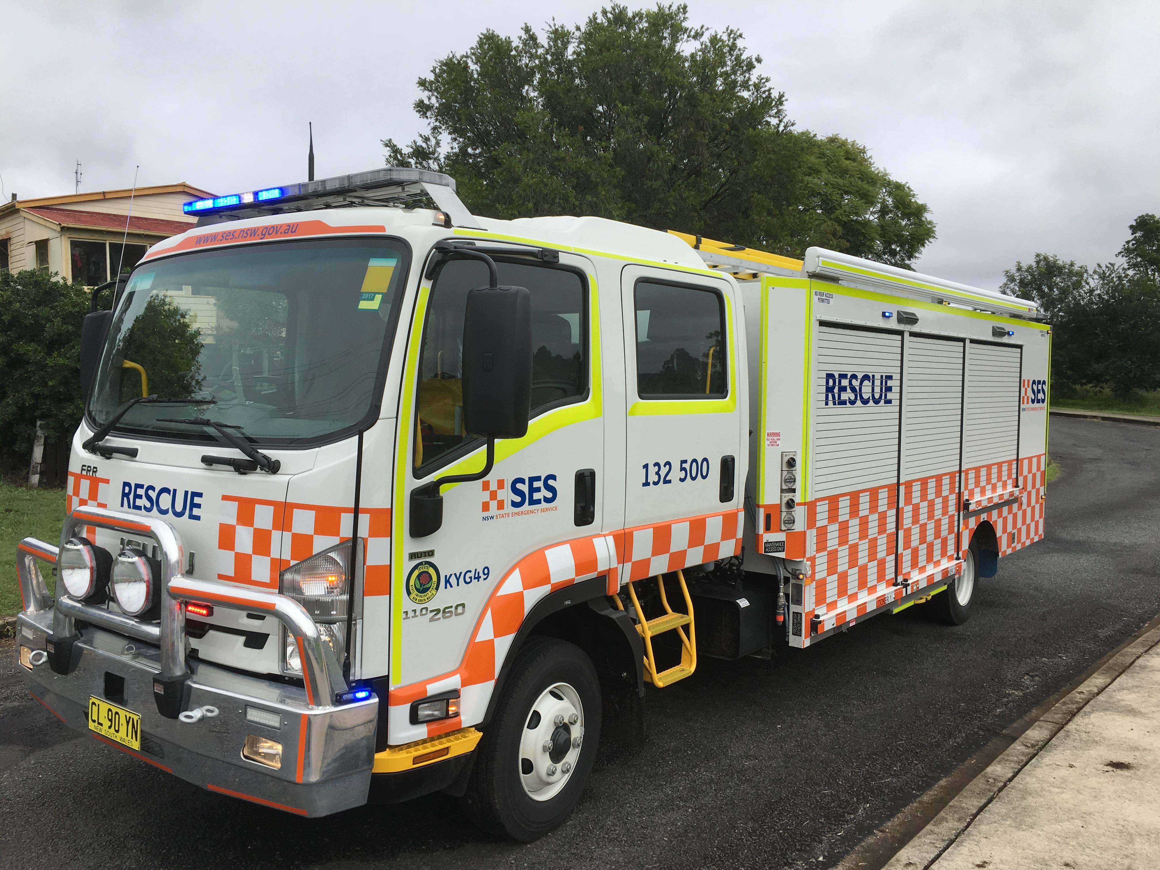 NSW SES launch new $56m rescue fleet