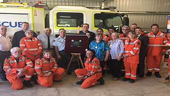 New Facilities at Tabulam and Kyogle for NSW SES Volunteers
