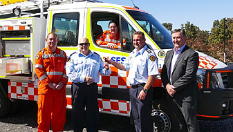 Mudgee SES response capability enhanced with new vehicle