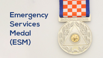NSW SES Volunteer Awarded Emergency Services Medal