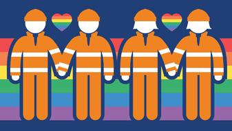NSW SES volunteers participate in Mardi Gras 2019