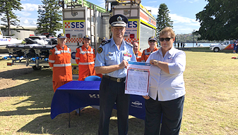NSW SES Volunteer Charter Signing