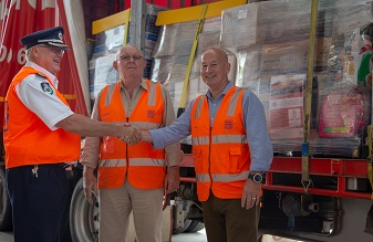 More than 13 tonnes of donations delivered to help feed farmers this festive season