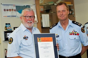 Campbelltown Unit Volunteers Acknowledged for Service