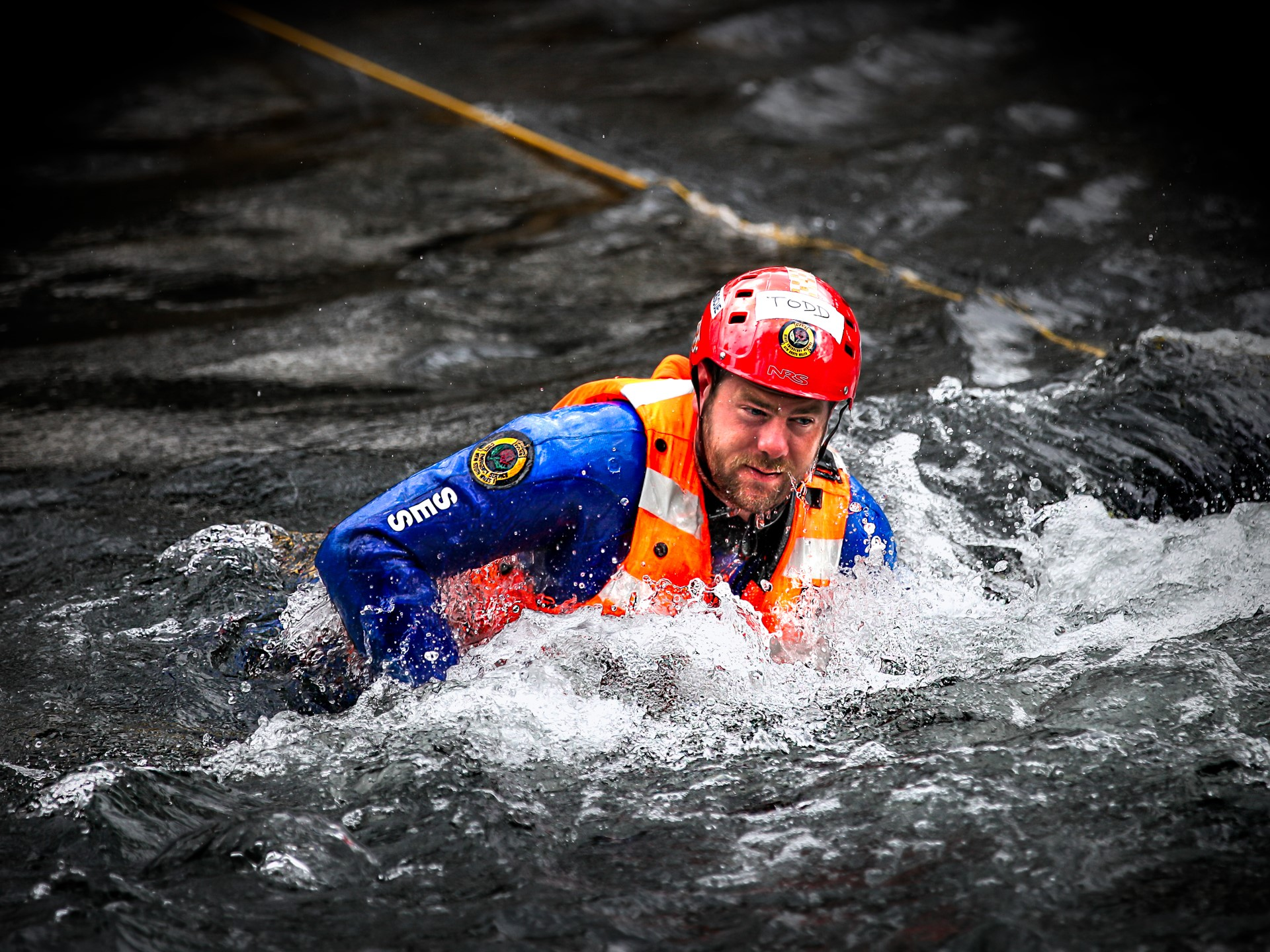Flood Rescue Operators Dive for New Skills