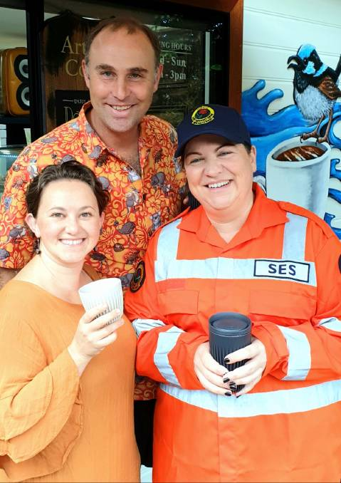 Gladstone to turn orange in support of local SES