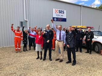 NSW SES Guyra Unit gets new Headquarters