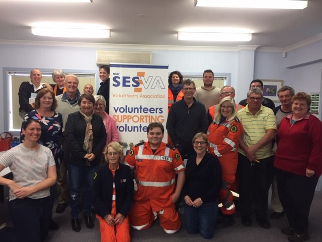 Partnership with NSW SES Volunteers Association for better mental health