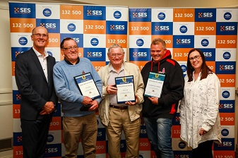 NSW SES Recognises Southern NSW Lifelong, Long Service and National Medal Award Recipients.