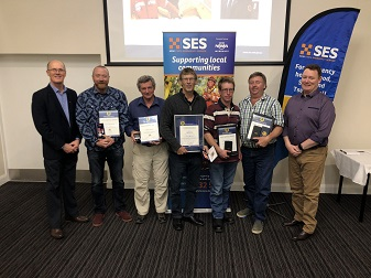 NSW SES Recognises South Eastern NSW Lifelong, Long Service, National Medal Award and Commissioner's Commendation for Service Recipients.