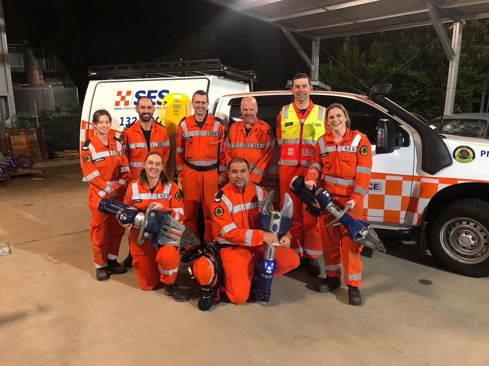 Australasian Rescue Challenge 2019 Team Profile: Port Macquarie Unit