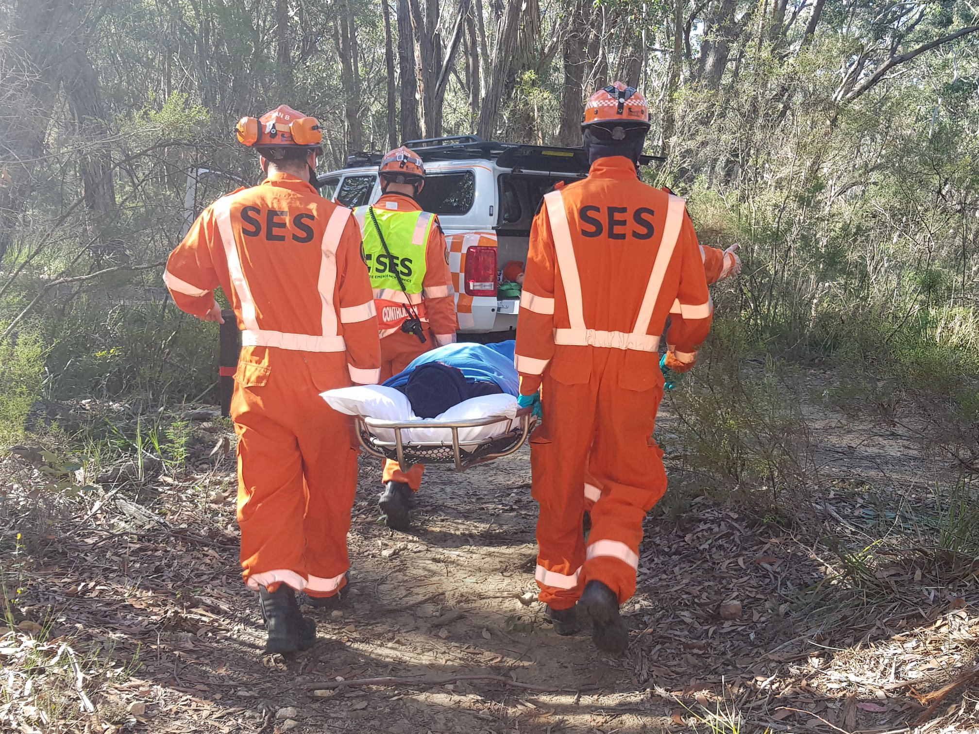 NSW SES Wingecarribee 'push up' for mental health