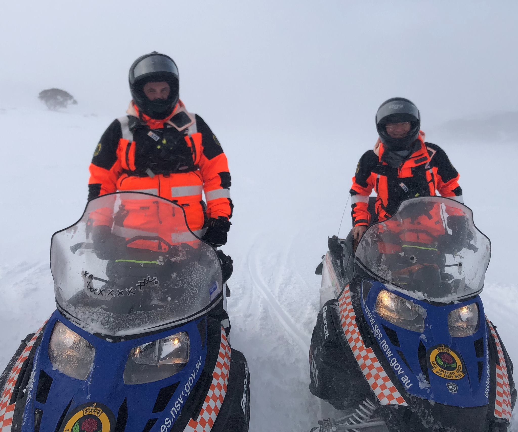 Advanced Snowmobile Training for NSW SES Volunteers