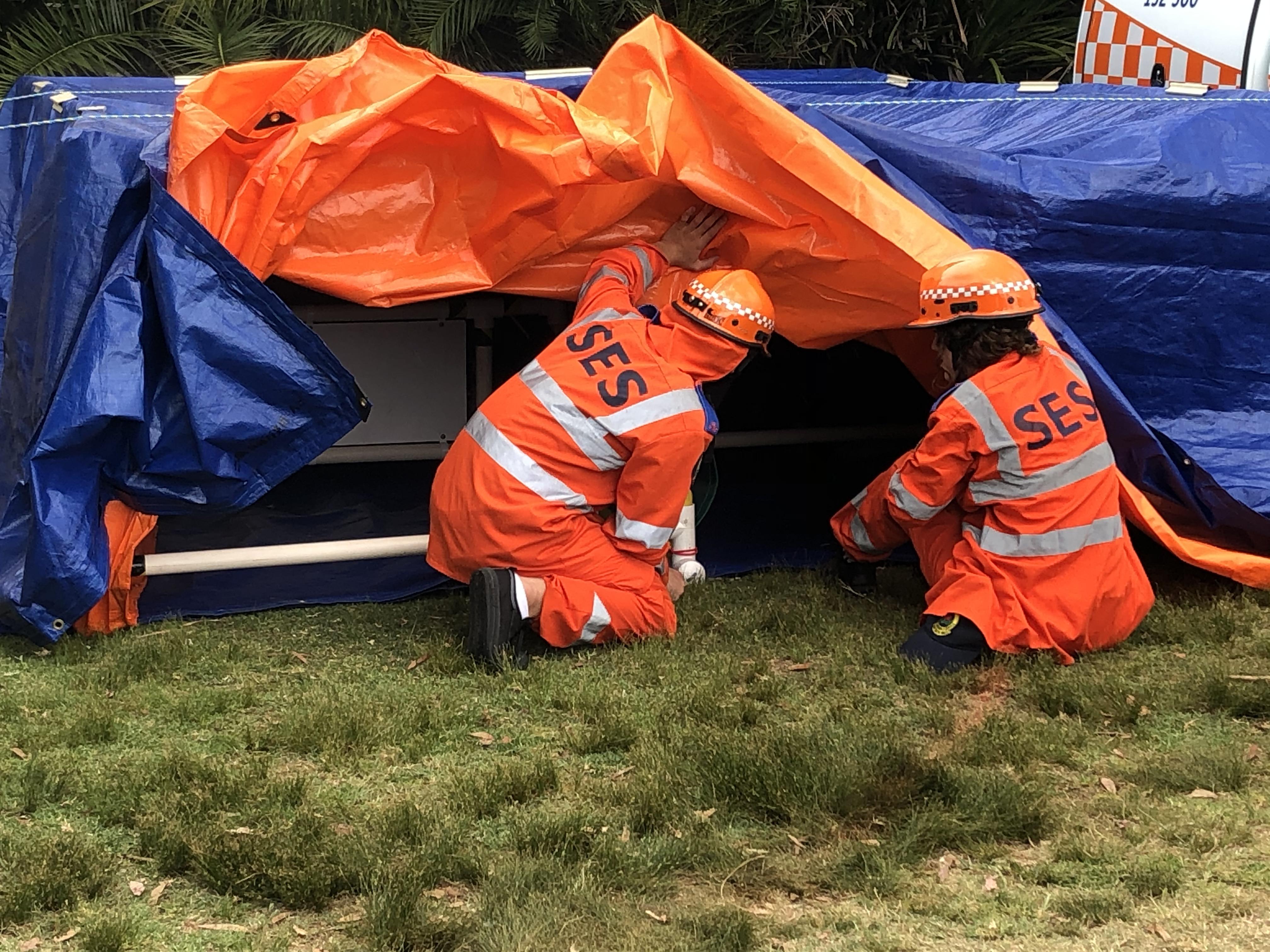 Sydney teens learn NSW SES rescue skills