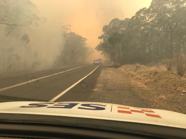 Stay up to date during bushfires
