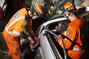 The role of NSW SES in road crash rescue