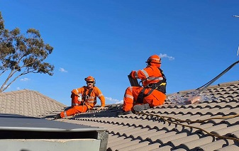 Queanbeyan storm hits home for NSW SES volunteers