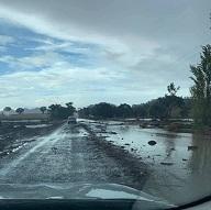 Storm out west reveals risky road behaviour!