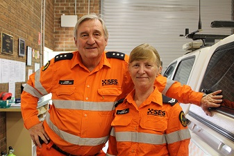 Couple say no to retirement, embracing chainsaws and volunteering instead