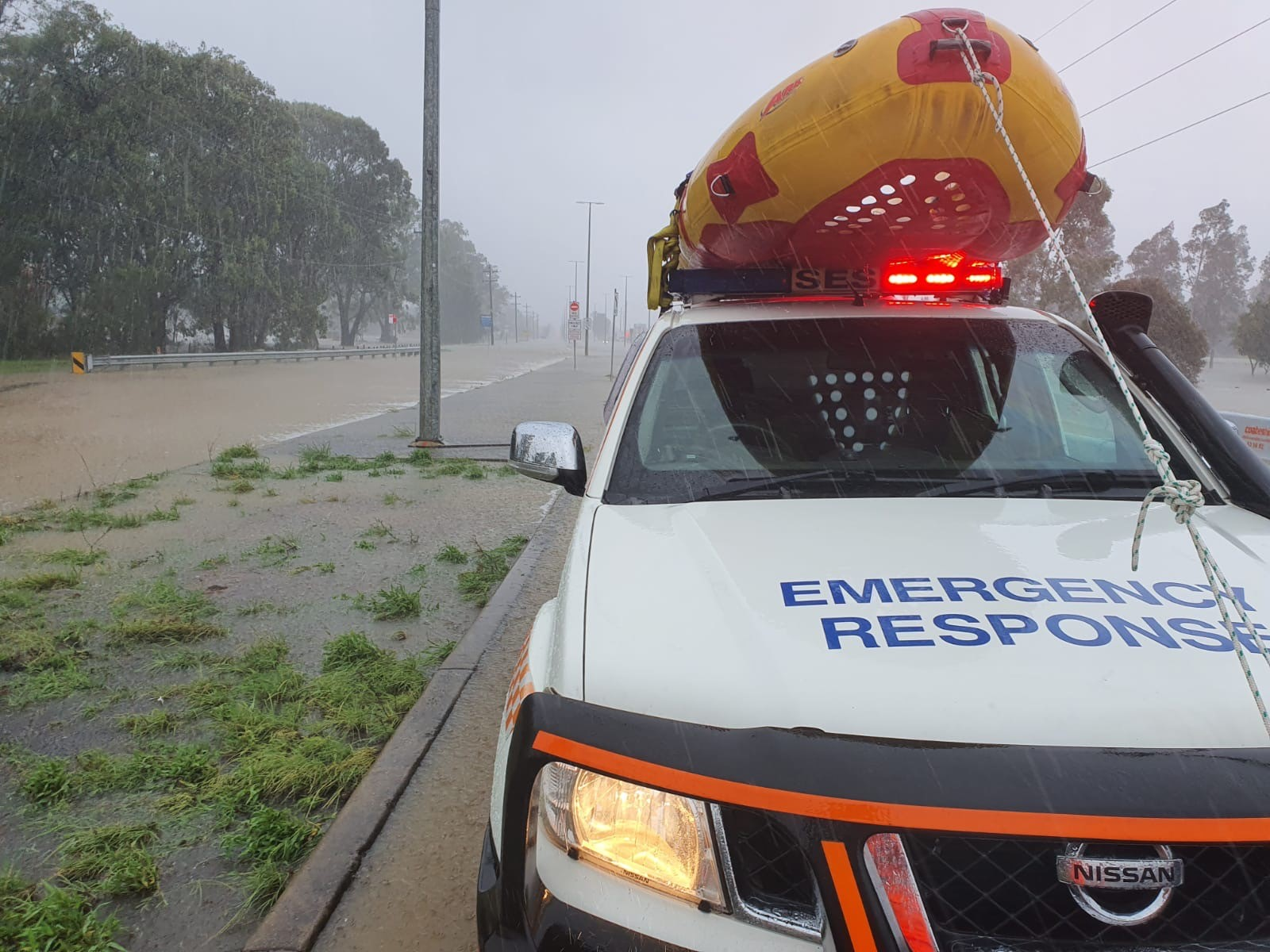 Busy storm season for NSW SES