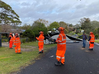 NSW SES sends in more Volunteers to Assess Damage of Severe Weather