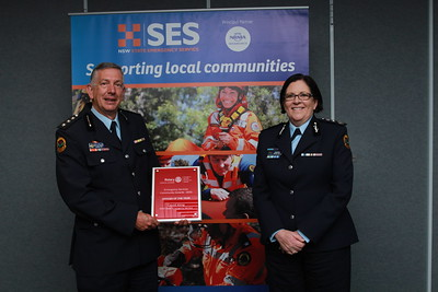 NSW SES's leading animal rescue specialist awarded with Rotary NSW honour