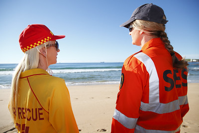 Don't forget, NSW SES responds to tsunamis too