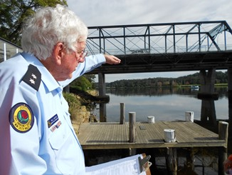 From Kempsey to Nowra: Bill clocks up half a century with the SES