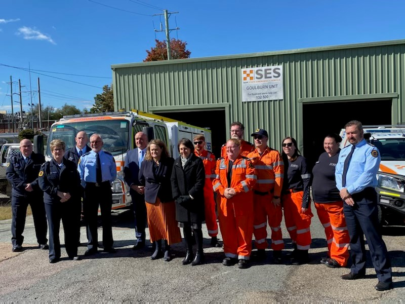 NSW SES Goulburn Unit receives financial boost