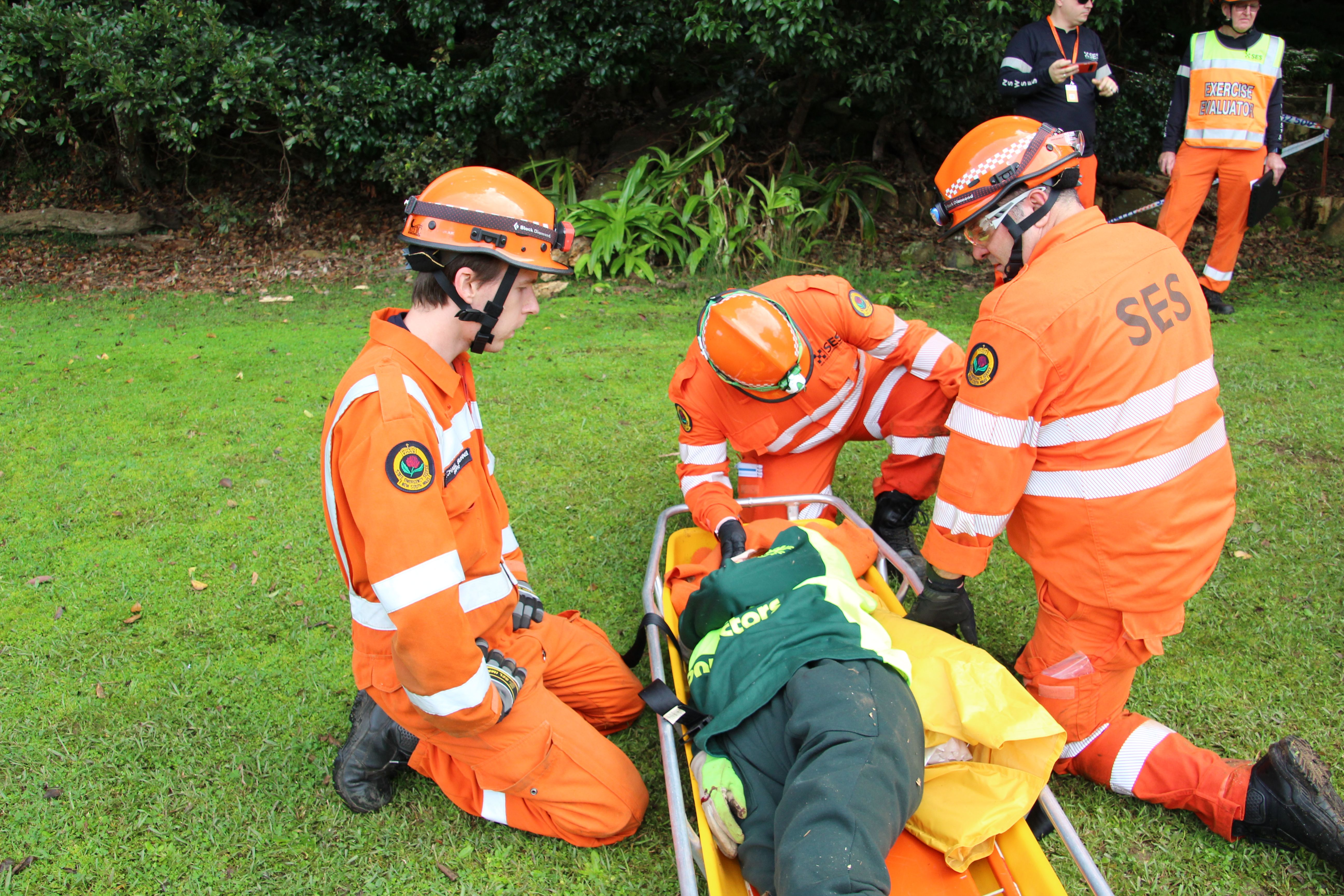 NSW SES Units put their rescue skills to the test