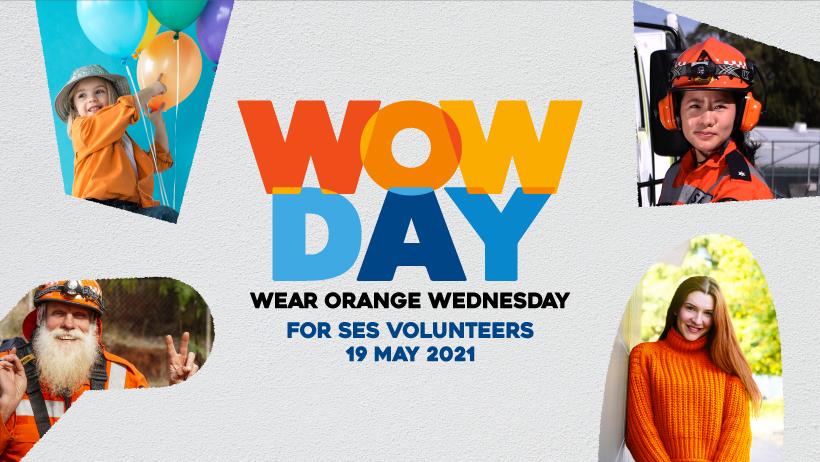 Wear orange in appreciation of NSW SES volunteers