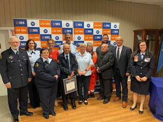 NSW SES congratulates our award winners