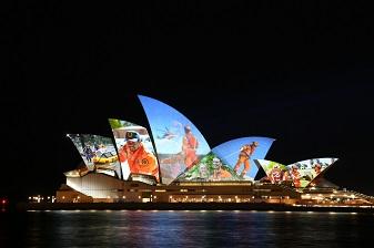 Australia lights up orange in support of SES volunteers