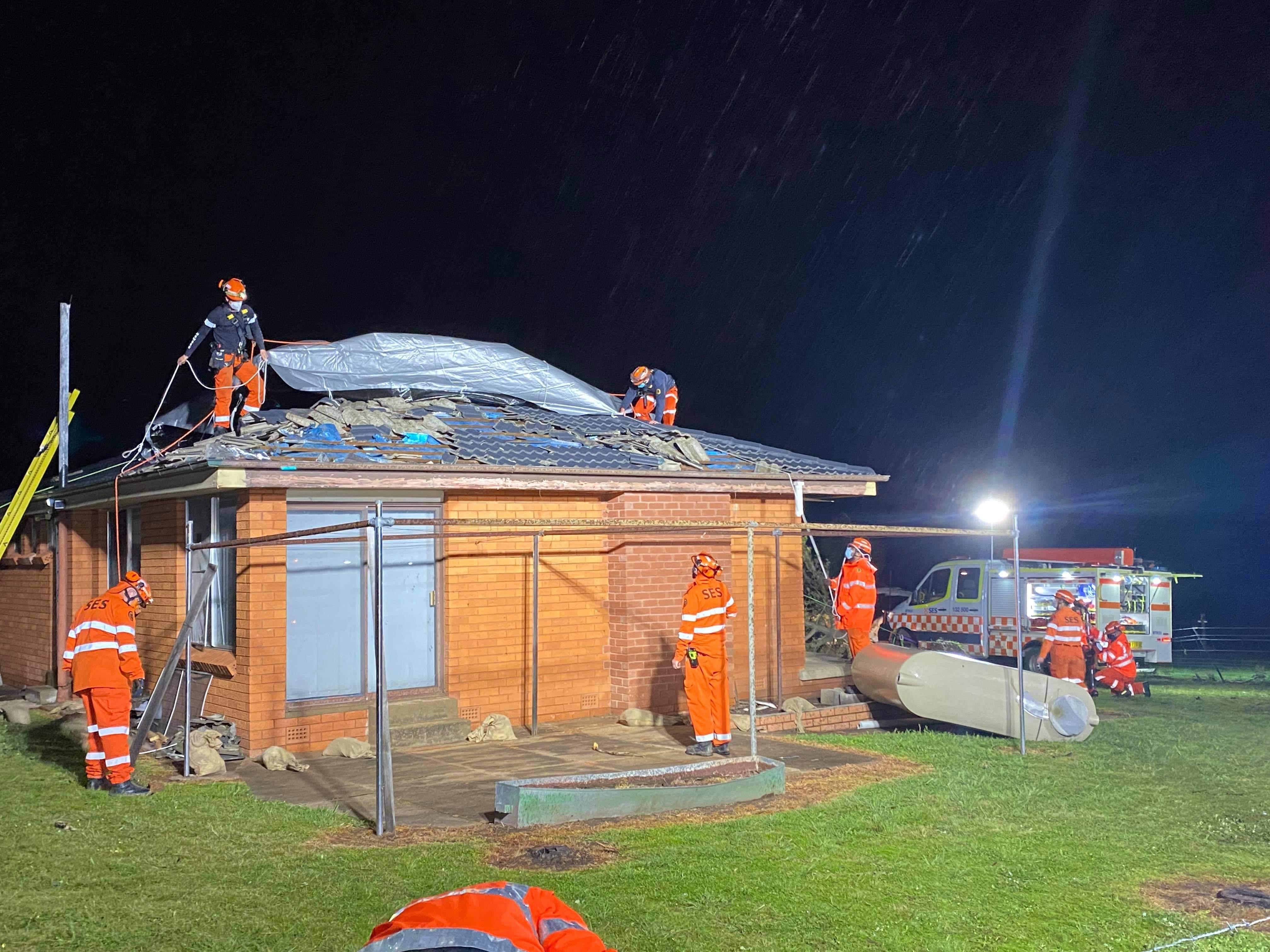 Volunteers respond to second tornado in two weeks
